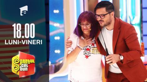 Preţul cel bun sezonul 1, 9 septembrie 2021: Mihaela a câștigat două mașini de spălat