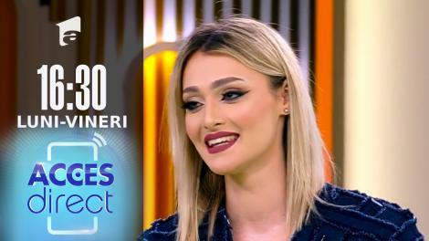 Acces Direct, 9 septembrie 2021. Georgiana Rotaru dă probă de asistentă tv
