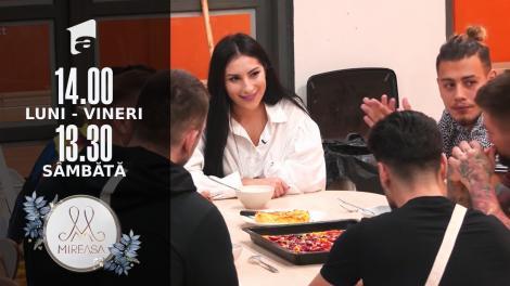 Mireasa Sezonul 4, 10 septembrie 2021. Ela, invitata băieților la cină. Cu cine a dansat