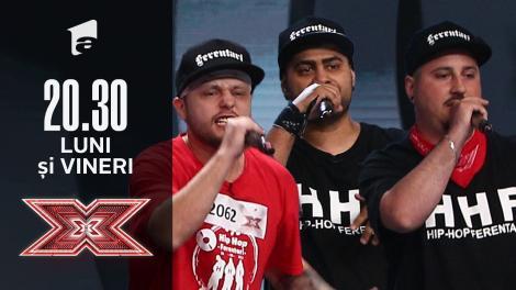 X Factor sezonul 10, 10 septembrie 2021. Trupa Hip Hop Ferentari - povești de viață puse în versuri