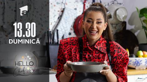 Hello Chef sezonul 2, 12 septembrie 2021. Roxana Blenche și Nicole Cherry prepară un mousse de ciocolată