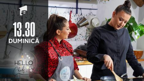 Hello Chef sezonul 2, 12 septembrie 2021. Roxana Blenche și Nicole Cherry prepară biscuiți cu cacao