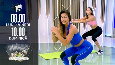 Super Neatza, 12 septembrie 2021. Fitness cu Diana Stejereanu: Exerciții în slow motion