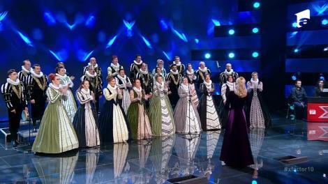 X Factor sezonul 10, 13 septembrie 2021: Corul Naţional de Cameră Madrigal, moment impresionant