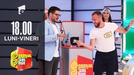 Preţul cel bun sezonul 1, 13 septembrie 2021. Raul a câștigat 1000 de lei și un televizor