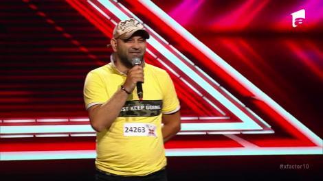 X Factor sezonul 10, 13 septembrie 2021. Jurizare Giani Baidoc