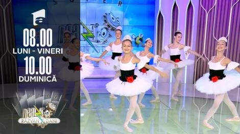Super Neatza, 16 septembrie 2021. Demonstrație de balet în platoul matinalului