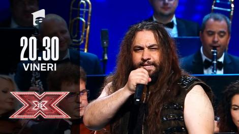 X Factor sezonul 10, 17 septembrie 2021: Trooper si Orchestra Metropolitană București: Tudor Gheorghe - Maturizare