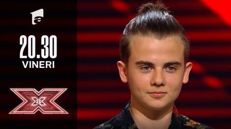 X Factor sezonul 10, 17 septembrie 2021: Patrik Mureșan: Tom Jones - You're My World