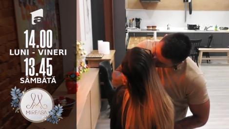 Mireasa Sezonul 4, 17 septembrie 2021. Adelina și Marius au luat micul dejun împreună!
