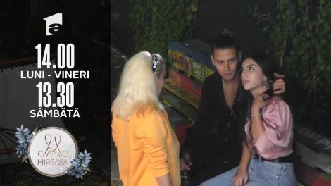 Mireasa Sezonul 4, 20 septembrie 2021. Seba pune la îndoială alegerile Elei: Te vezi cu Petrică într-o relație de viitor?