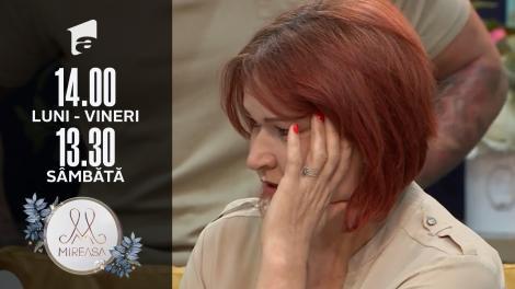 Mireasa Sezonul 4, 21 septembrie 2021. Topul publicului, contestații din partea doamnei Eugenia: Ana se bucură de răul altuia!