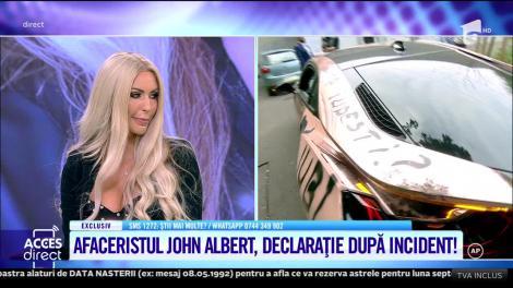 Fotomodelul Allexys a vandalizat mașina unui milionar! Cum arată bolidul de lux