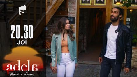 Adela sezonul 2, episodul 11, 23 septembrie 2021. Adela și Lucian, la plimbare pe străzile pietruite ale Sighișoarei