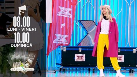 Super Neatza, 23 septembrie 2021. Colecția unică de tricouri cu design aniversar X Factor 10