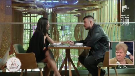 Mireasa Sezonul 4, 23 septembrie 2021. Andrada și Victor au avut parte de o întâlnire romantică la restaurant