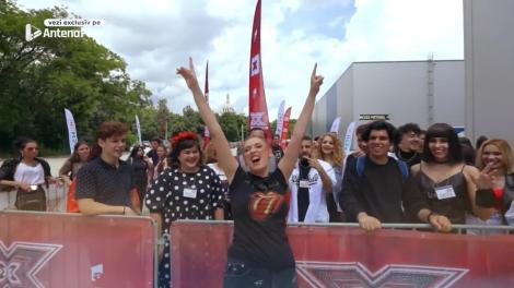 eXtra Factor - Episodul 5: Ilona Brezoianu a apărut cu o perucă neagră pe cap