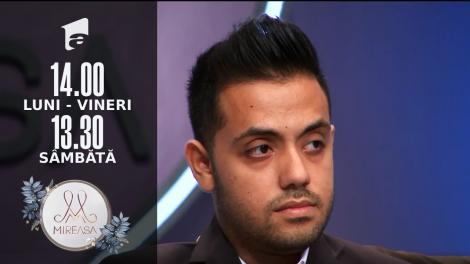 Gala Mireasa Sezonul 4, 25 septembrie 2021. Mohamed a fost eliminat! Cine este Băiatul Săptămânii