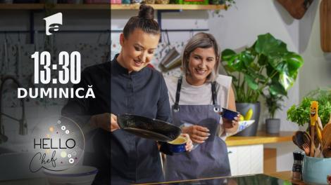 Hello Chef sezonul 2, 26 septembrie 2021. Roxana Blenche şi Adda pregătesc un desert delicios - Cremă de zahăr ars fără lactoză