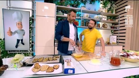 Super Neatza, 28 septembrie 2021. Linguini cu zucchini și parmezan, rețeta lui chef Nicolai Tand