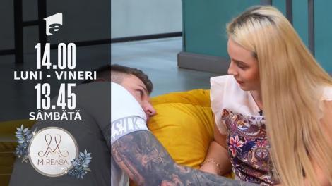 Mireasa Sezonul 4, 28 septembrie 2021. Explicațiile lui Marius pentru sărutul cu Amalia: A fost o prosteală