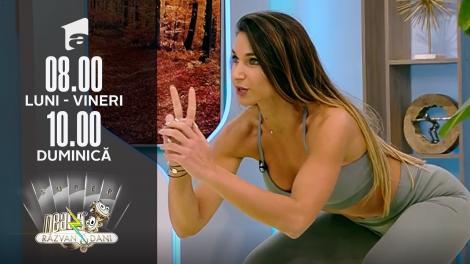 Super Neatza, 28 septembrie 2021. Fitness cu Diana Stejereanu! Top trei cele mai bune exerciții pentru fesieri