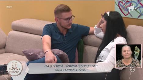 Mireasa Sezonul 4, 29 septembrie 2021.  Ela și Petrică, lămuriri despre ce simt unul pentru celălalt!