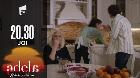 Adela sezonul 2, episodul 14, 30 septembrie 2021. Martha încearcă să-l omoare pe Florin. Îi pune ciuperci otrăvite în mâncare