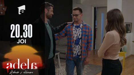 Adela sezonul 2, episodul 14, 30 septembrie 2021. Călin, puțin invidios pe Florin: Mi-ar fi plăcut mie să fiu fratele lui Mihai!