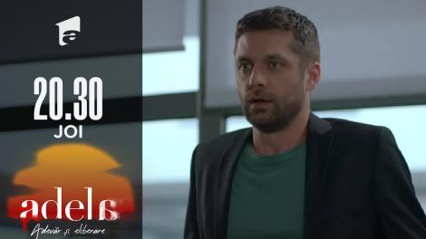 Adela sezonul 2, episodul 13, 30 septembrie 2021. Paul Andronic nu mai este directorul trustului de media. Lucian va conduce totul