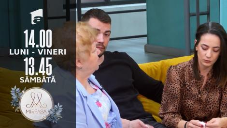 Mireasa Sezonul 4, 1 octombrie 2021. Andrada nu vrea să discute despre trecutul ei cu doamna Lenu