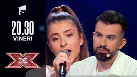 X Factor sezonul 10, 1 octombrie 2021. Alisa Iancu - Birdy - Skinny Love