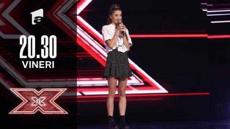 X Factor sezonul 10, 1 octombrie 2021. Jurizare Alisa Iancu