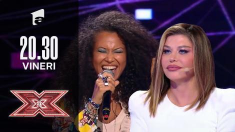 X Factor sezonul 10, 1 octombrie 2021. Noemi Almond - Gnarls Barkley - Crazy