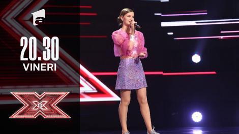 X Factor sezonul 10, 1 octombrie 2021. Jurizare Cosmina Cotoroș