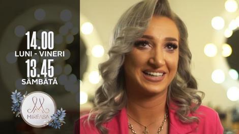 Gala Mireasa Sezonul 4, 2 octombrie 2021. Carmen, o nouă concurentă în casa Mireasa