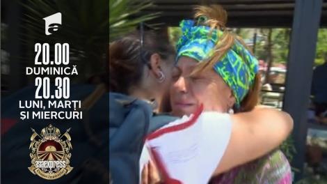 Asia Express sezonul 4, 5 octombrie 2021. De ce a izbucnit în lacrimi Adriana Trandafir, după ce și-a văzut fiica