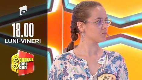 Preţul cel bun sezonul 1, 5 octombrie 2021. Cristiana a câștigat premii în valoare de 14.637 de lei, în marea finală!