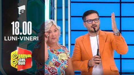 Preţul cel bun sezonul 1, 6 octombrie 2021. Daniela este învățătoare, iar Liviu și Andrei i-au făcut o ofertă de nerefuzat