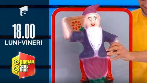 Preţul cel bun sezonul 1, 6 octombrie 2021. Cu ce vedetă din România a fost comparat un pitic de grădică