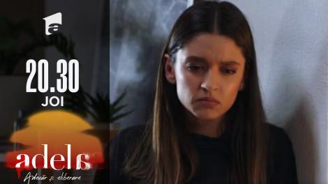 Adela sezonul 2, episodul 15, 7 octombrie 2021. Luca o amenință pe Andreea că le va arăta pozele compromițătoare tuturor