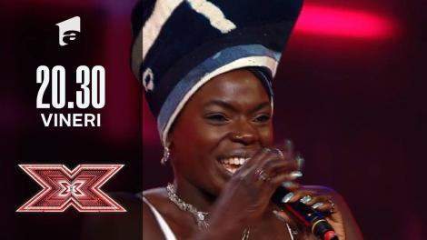 X Factor sezonul 10, 8 octombrie 2021. Oma Jali - Diana King- Shy Guy