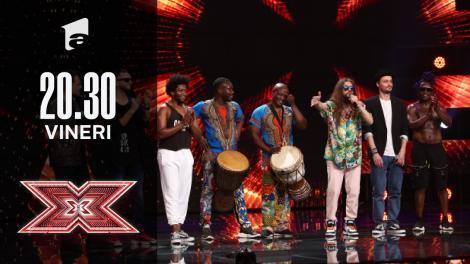 X Factor sezonul 10, 8 octombrie 2021. Flow Fusion: ADN, Krem și Mistah White, un moment artistic demn de laudă