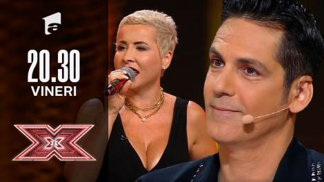 X Factor sezonul 10, 8 octombrie 2021. Florentina Tuchel Matei - Dinah Washington, Walter Rodell - Mad About the Boy