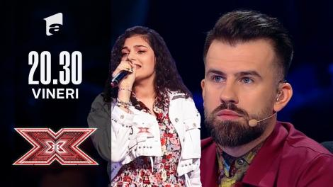 X Factor sezonul 10, 8 octombrie 2021. Delia Andreea Racu - Aretha Franklin - I Never Loved A Man