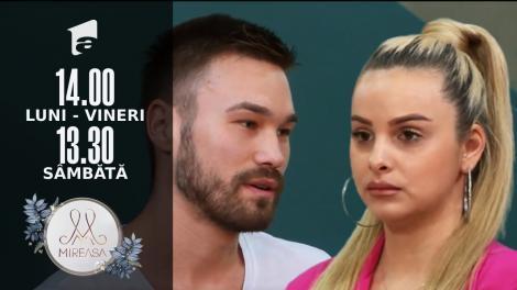 Mireasa Sezonul 4, 8 octombrie 2021. Maria, prima opțiune a lui Ionuț