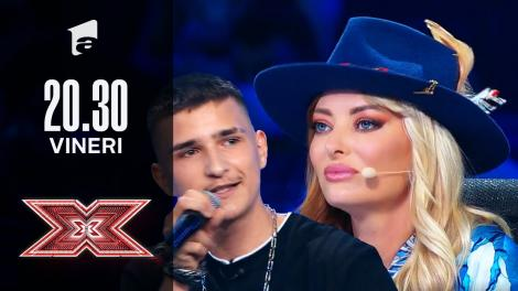 X Factor sezonul 10, 8 octombrie 2021. Cătălin Stângă a cântat o melodie compusă de el
