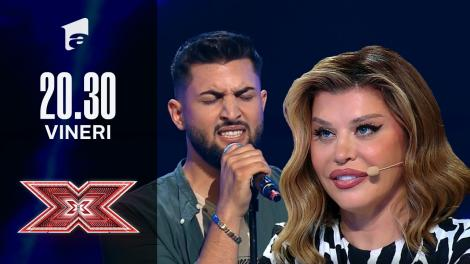 X Factor sezonul 10, 8 octombrie 2021. Ștefan Dincă  - Sam Smith - Writing's On The Wall