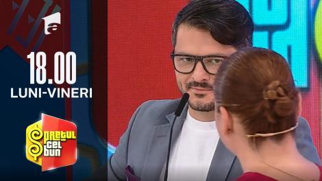 Preţul cel bun sezonul 1, 8 octombrie 2021. Liviu Vârciu, surprins de o concurentă