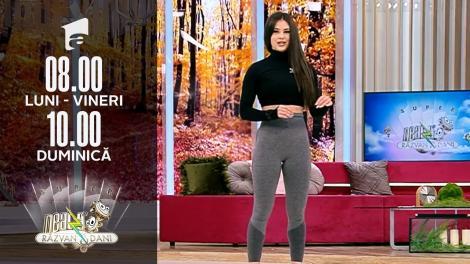 Super Neatza, 8 octombrie 2021. Super antrenament Tabata still HIIT cu Mara Zidarescu